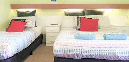Twin Standard Garden View Accommodation at Ocean View Motel - Mollymook NSW