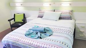 Queen Garden View Accommodation at Ocean View Motel - Mollymook NSW